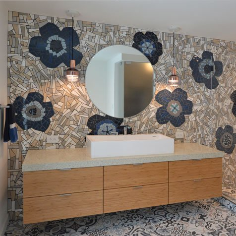 Carrie Omalley Architectural Mosaics