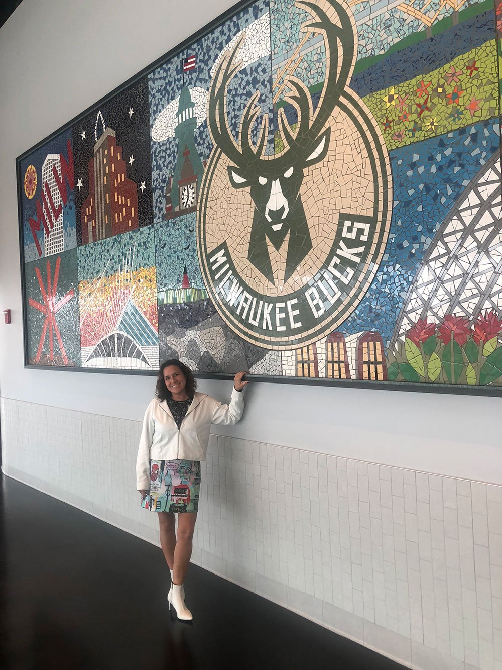 Carrie Omalley Bucks Mosaic Mural